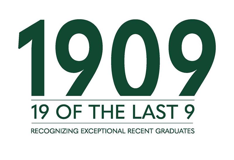 19 of the Last 9 Award logo