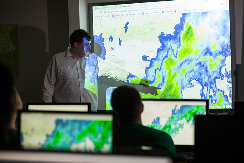 The Arkansas Tech University Department of Emergency Management offers a master's degree that is ranked top 20 in its category in the nation.