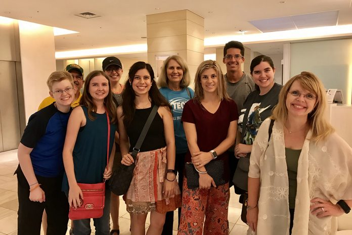 ATU students and faculty in Japan