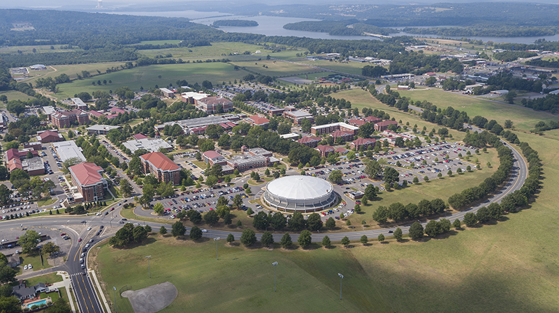 ATU Campus Russellville Looking West