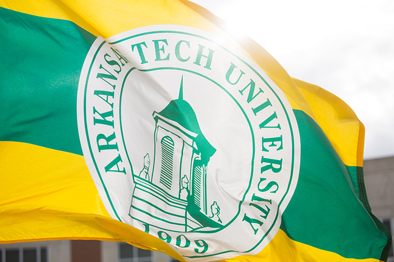 Arkansas Tech University Flag