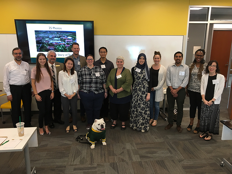 New Faculty gather at their Fall 2019 Orientation