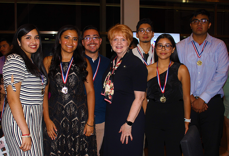 Dr. Robin E. Bowen and LULAC Award Recipients 2019
