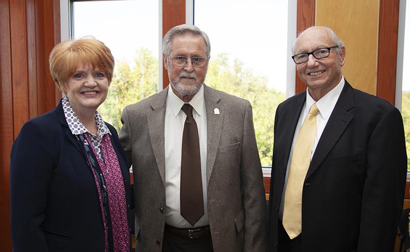 Dr. Robin E. Bowen, Jim Murphy and Fritz Kronberger 10-17-2019