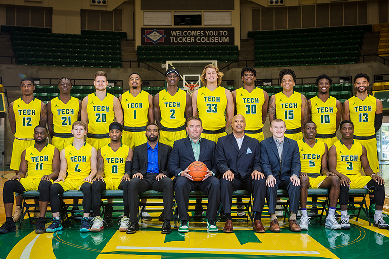 2019-20 Arkansas Tech Men's Basketball Team