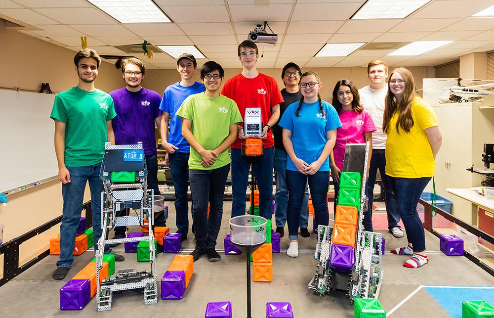 ATU VEX U Robotics Team 2019-20