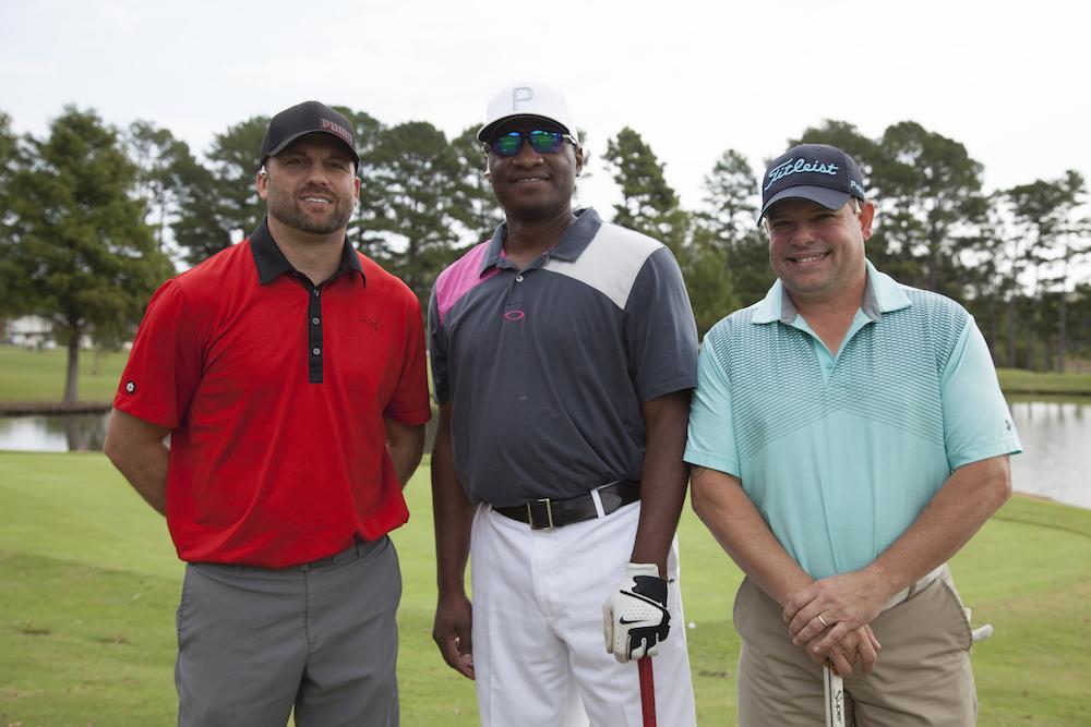 Golf Tournament - Tyson Team: Jeremy Hankins, Ricky Williams, Chris Slaton