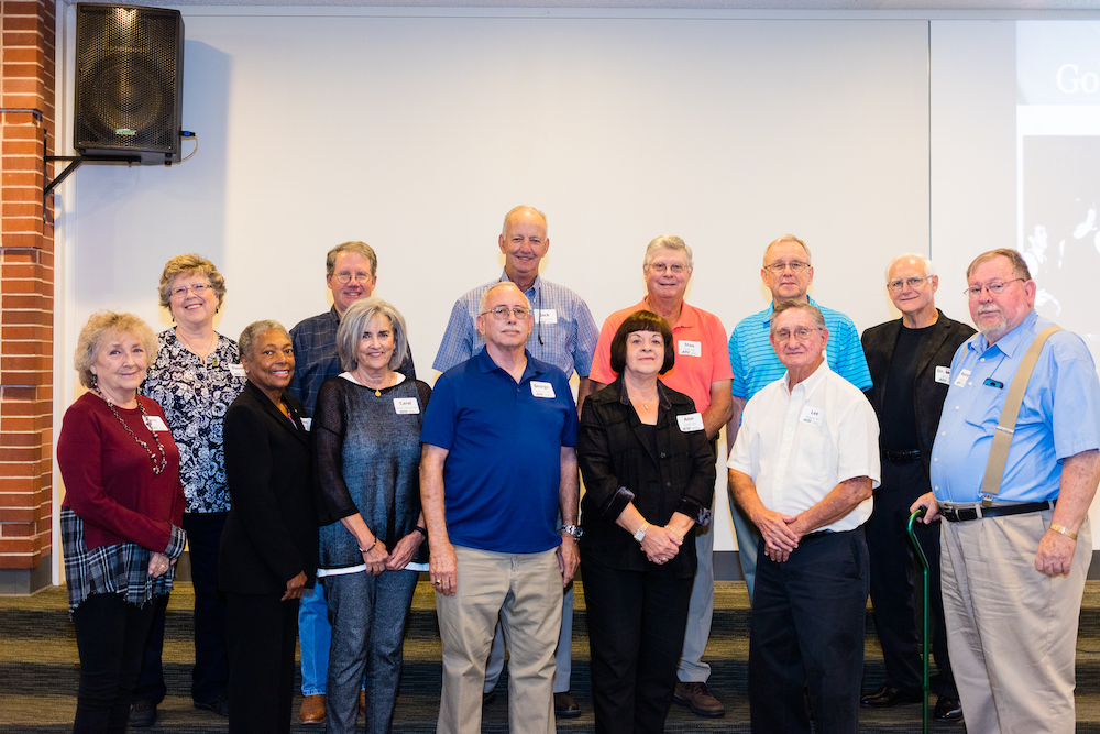 Golden T Society Induction – members of the class of 1969 celebrate their 50th reunion