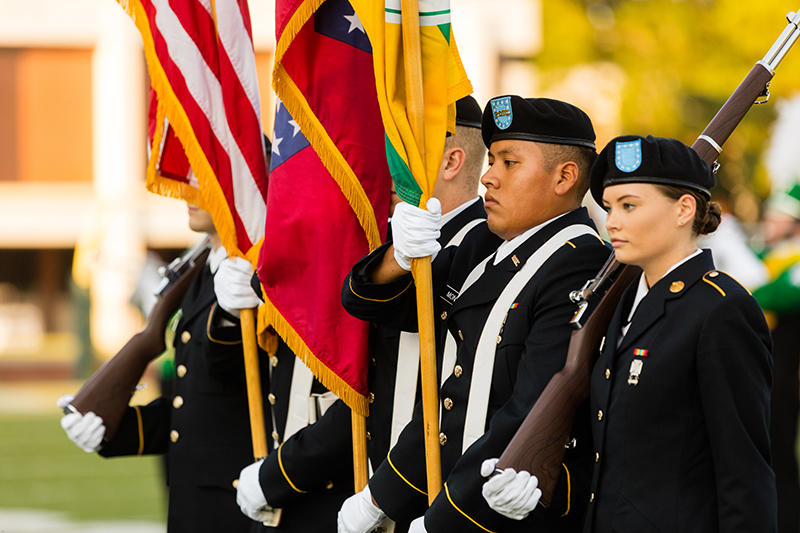 ATU ROTC Color Guard Fall 2019