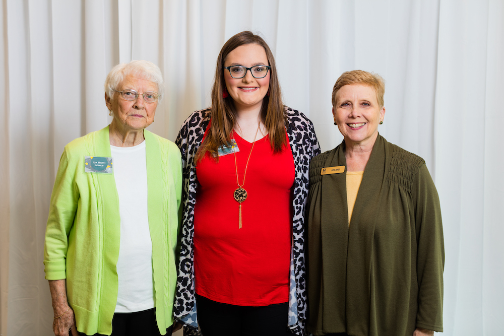 Ida Ruth Jones, Ally Kilbreath, Jayne Jones