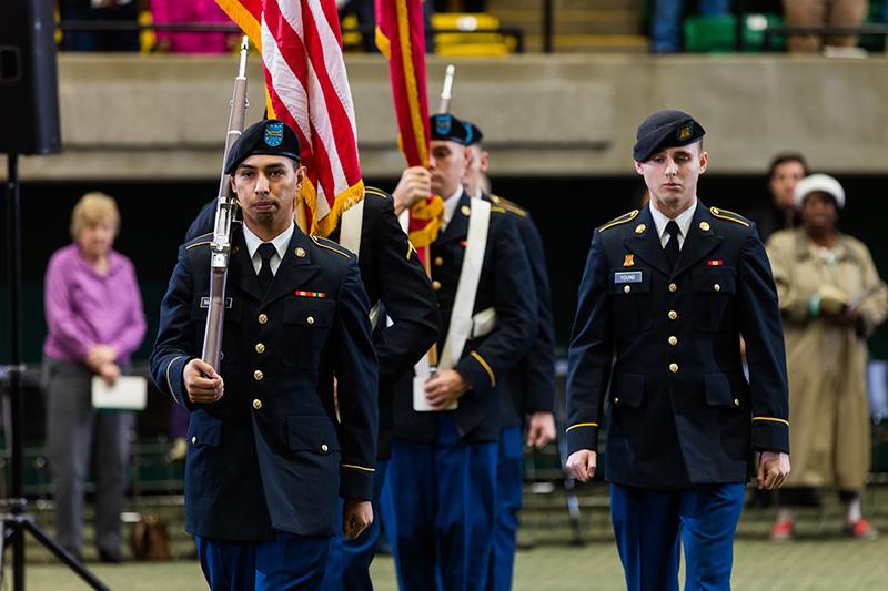 ATU U.S. Army ROTC Color Guard 2019 Commencement