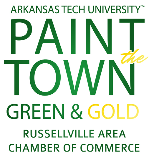 Paint the Town Green and Gold Logo