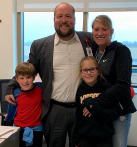 Jeremy Drinkwitz and family
