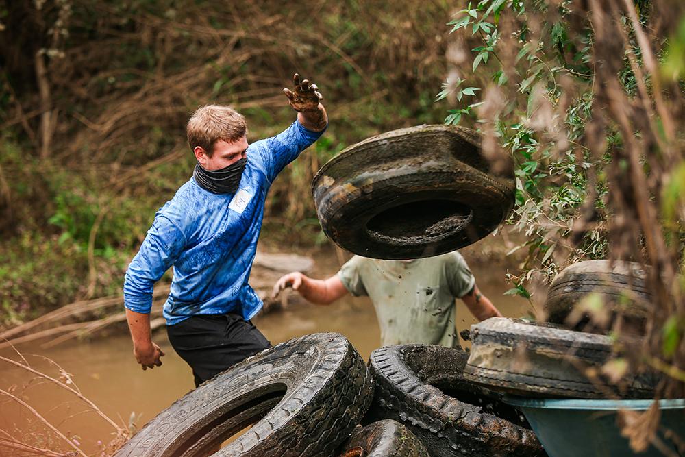 Prairie Creek Clean-Up October 2020