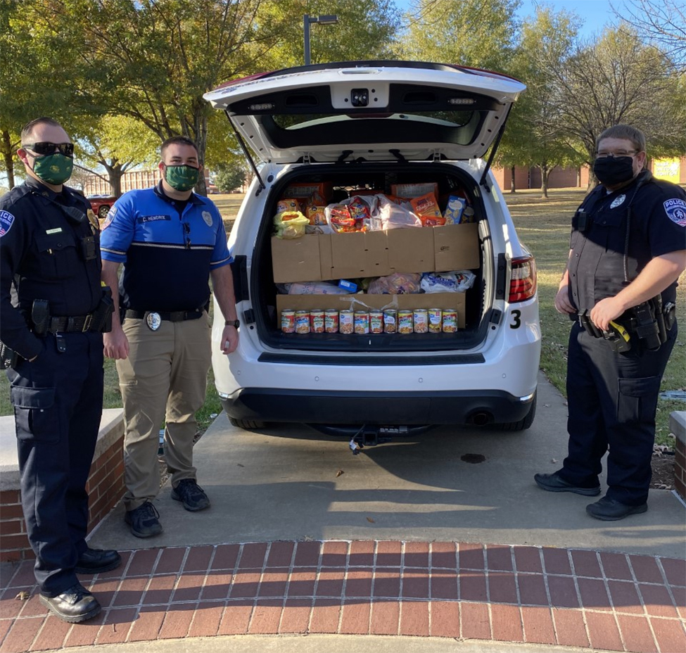 ATU Public Safety Donation to River Valley Food 4 Kids 2020 2