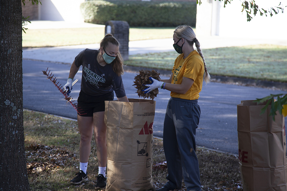ATU Softball Green and Gold Give Back 2020