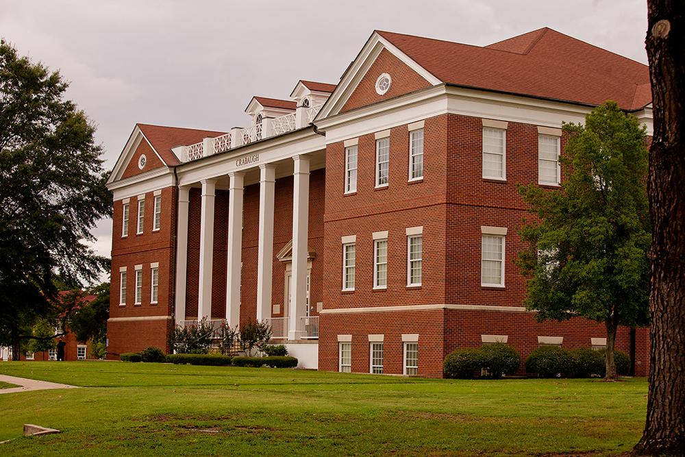Crabaugh Hall Looking West