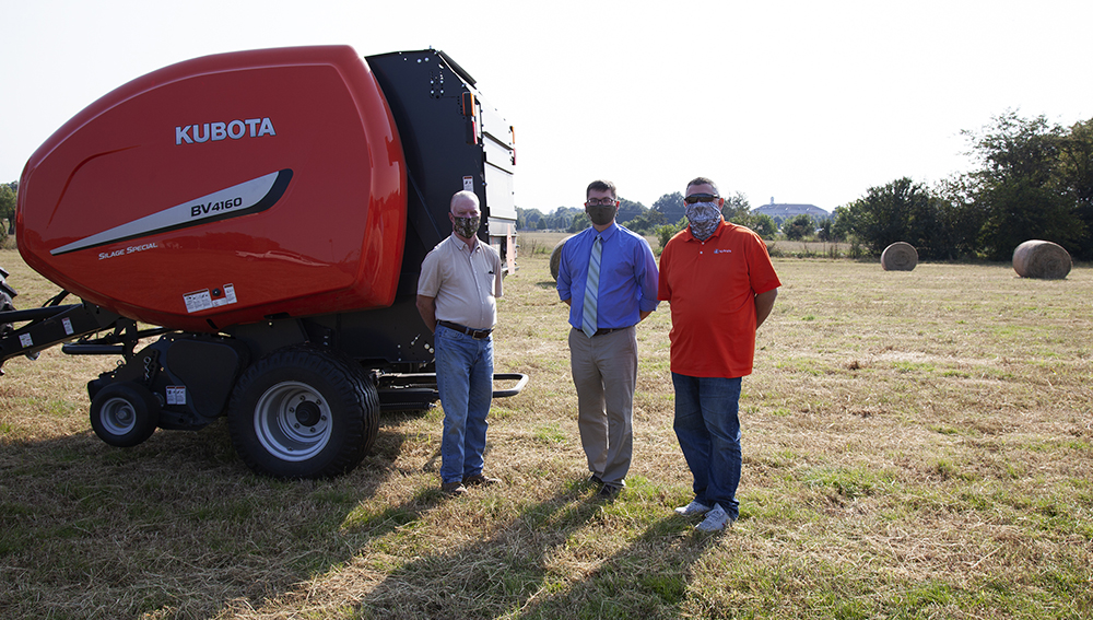 River Valley Tractor Donation to ATU Fall 2020