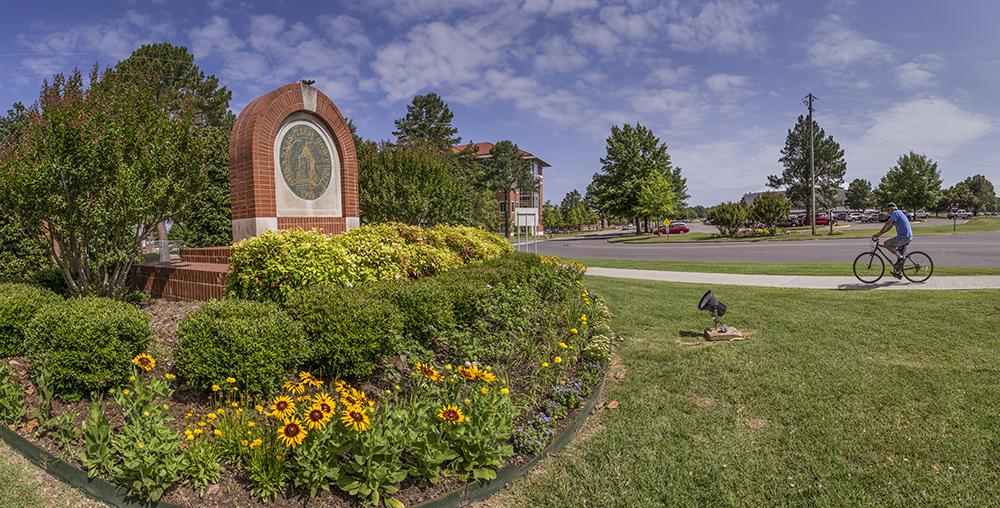 ATU Campus Entrance Looking North 1000.