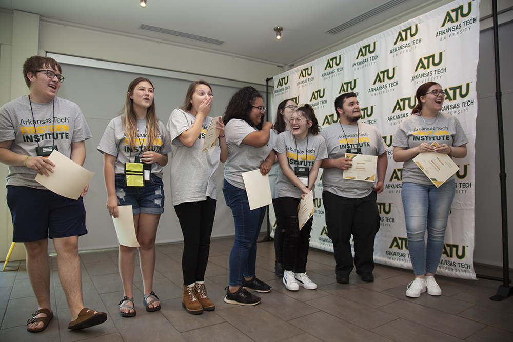 Issues to Action Winners ATU First Gen Institute 2021