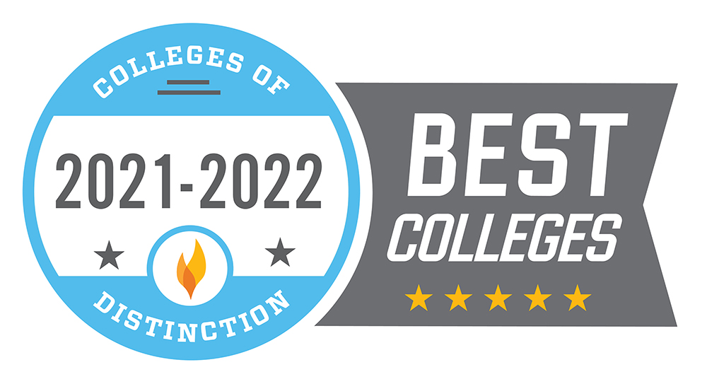 COD Best Colleges Badge