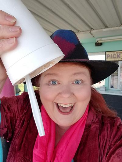 Kat Robinson at Susie Q Malt Shop in Rogers